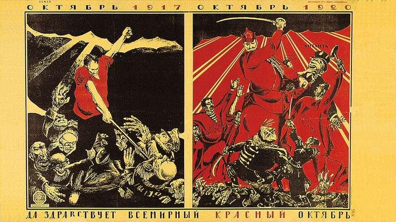 manifesto-sovietico-viva-ottobre-rosso